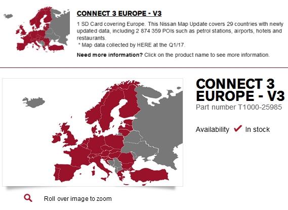 Aktualizacja map Nissan Connect 3 - strona 3 - Nawigacja, urządzenia