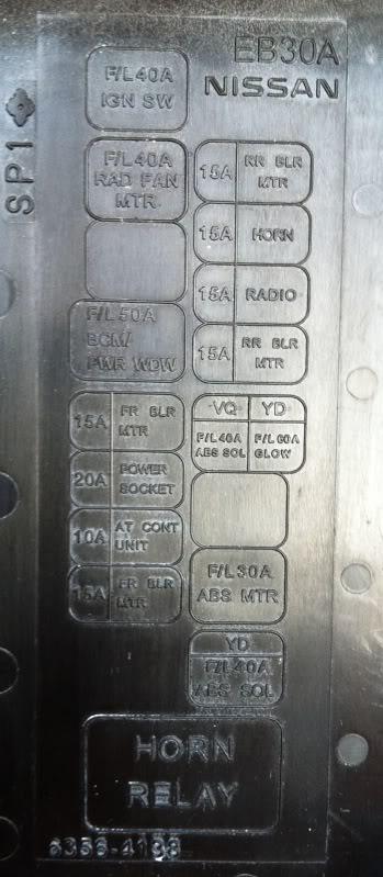 fuse box on nissan navara wiring diagram nissan navara d40 relay diagram nissan titan fuse box fuse reverse