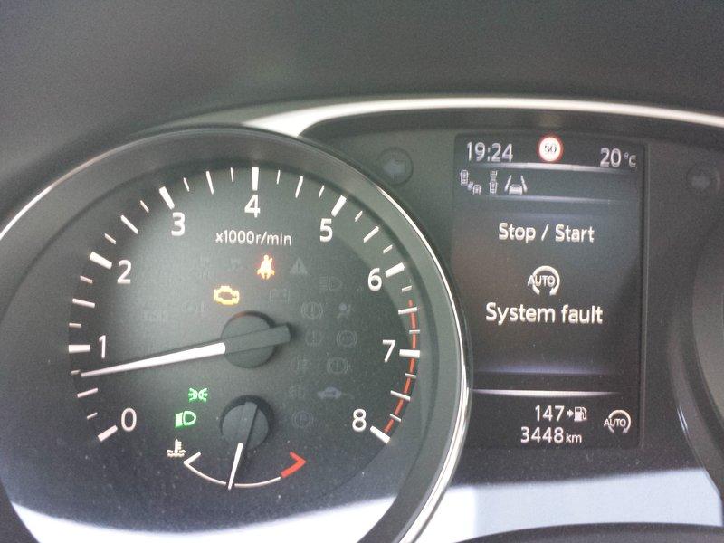 Start stop system fault - X-Trail T32 [2014-] - Forum Nissan Klub Polska