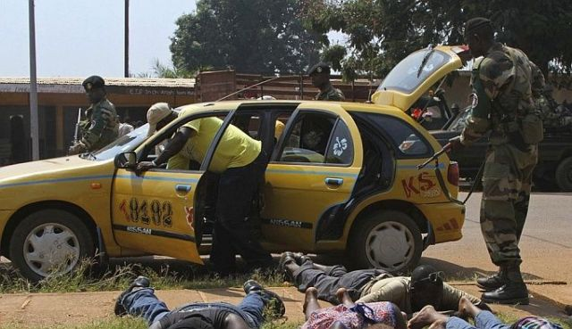 Africa taxi